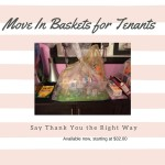 Move In Baskets for Tenants