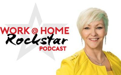 Edna Keep Featured on Work @ Home Rockstar Podcast