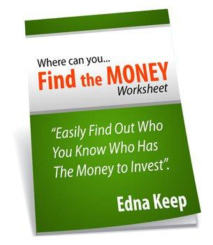 Edna Keep Finding The Money Download Real Estate Investment