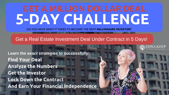 MILLION-DOLLAR-DEALS-5-DAY-CHALLENGE-Get-a-Deal-Under-Contract-in-the-Next-5-Days-Find-Your-Deal-Analyze-the-Numbers-Lock-Down-the-Contract-And-Earn-Your-Financial-Independence-