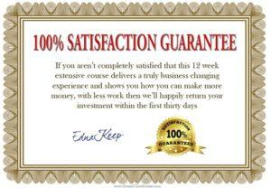 money back guarantee 90 day to 5k real estate investors course with edna keep